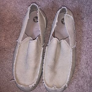 Mens canvas crocs